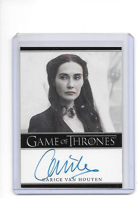 Game of Thrones Season 5 Carice Van Houten as Melisandre Full Bleed Auto