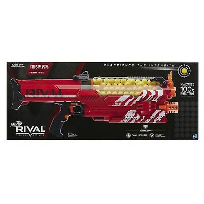 Nerf Rival Nemesis MXVII-10K Red - SHIPS FREE