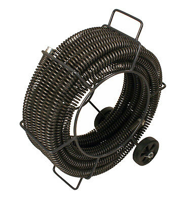 """Steel Dragon Tools® 62280 C-11 Drain Cleaner Snake Cable 1-1/4""""x 60' for RIDGID®"""