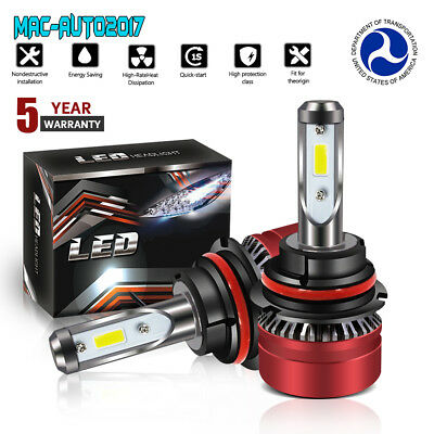 9007 HB5 LED Headlight for Ford F-150 1992-2003 F-250 1992-1999 12000LM 6000K