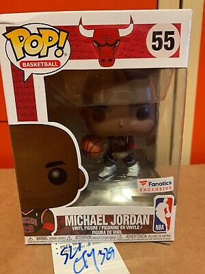 New Funko POP NBA  Chicago Bulls Michael Jordan Fanatics Exclusive Preorder #55