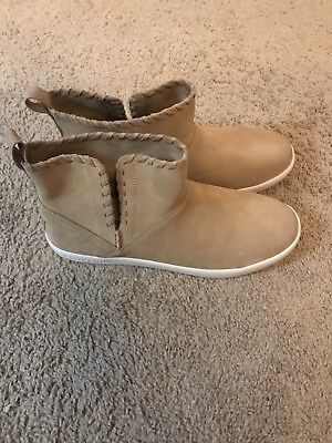 ef72304e9ab NEW KOOLABURRA BY UGG Rylee Suede Pull On Ankle Fashion Boot Sand ...