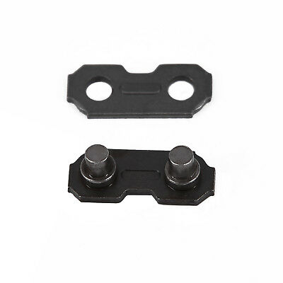 """24 Set Chainsaw Chain Joining Links Plain&Preset Tie Strap 3/8"""" Low Profile 050"""""""