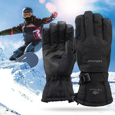Unisex 3M Thinsulate Insulated Warm Winter Snow Gloves for Men Women Windproof