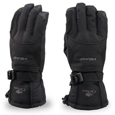 Waterproof Mens Ski Gloves Winter Warm For Snowboard, Snowmobile, Cold Weather