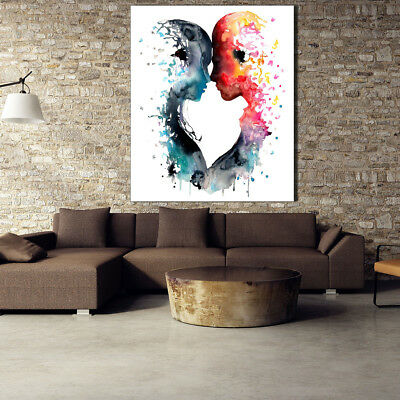 Color Inkjet People Character Canvas Poster Print Picture Home Wall Art Decor