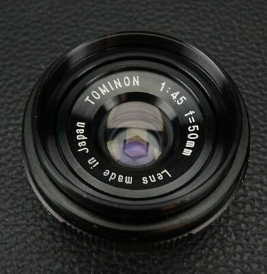 Tominon 1:4.5 f=50 mm Auto Lens for Polaroid MP-3 MP-4 Made in Japan