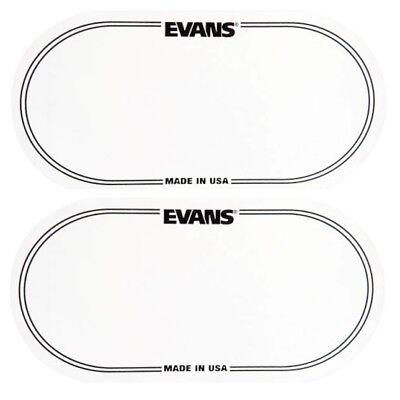 Click Pad EQPB2 Black Multipack of 2 Protector Evans Double Bass Drum Patch