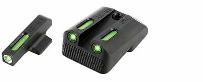 Truglo TG13NV2A TFX Novak 270/450 1911 Green 3 Dot Sight Tritium/FO Sight