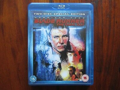 Blade Runner The Final Cut Blu-Ray (2 Disc) - Hardly Used - Great Condition