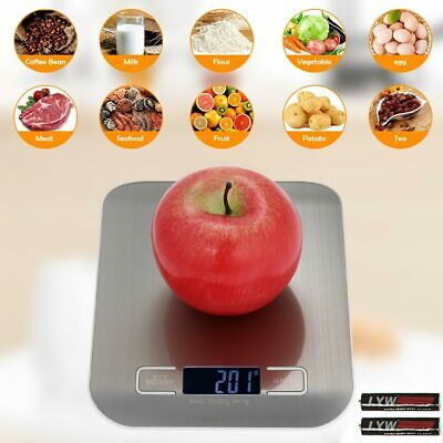 1g-10kg Digital LCD Electronic Kitchen Household Weighing Food Cooking Scales UK