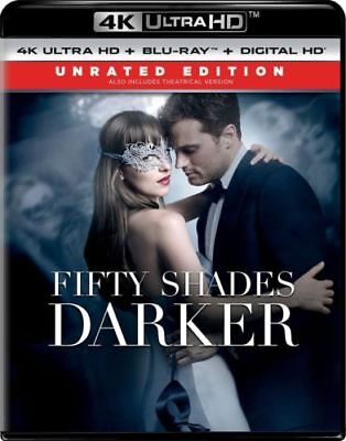 Fifty Shades Darker (4K Ultra HD + Blu-ray) New