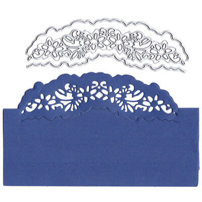 Card lace decor Metal Cutting Dies for DIY Scrapbooking Album Embossing Craft LF