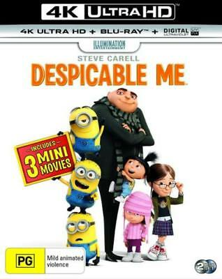 Despicable Me (4K Ultra HD + Blu-ray) New