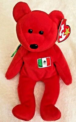 Ty Beanie Baby Osito - (Bear Mexico US Country Exclusive 1999)