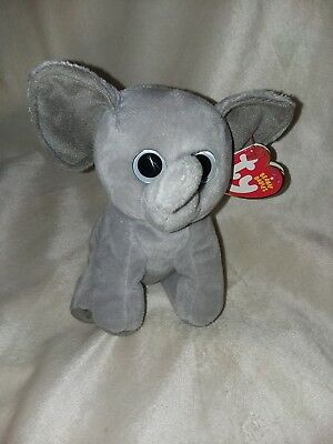 f4fa907fb15 TY BEANIE BABY SAHARA the elephant Tan Ears 6
