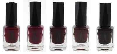 Water Permeable Vegan Nail Polishes -Purples Collection- free surprise polish