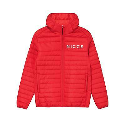 Nicce ASPEN QUILETD JACKET RED