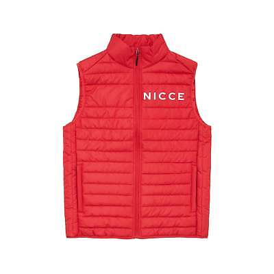 Nicce VAIL QUILTED GILET RED
