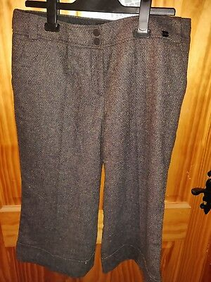 7375046584c91 Size 3 Ted Baker 3 4 Length Trousers BNWT RRP £80