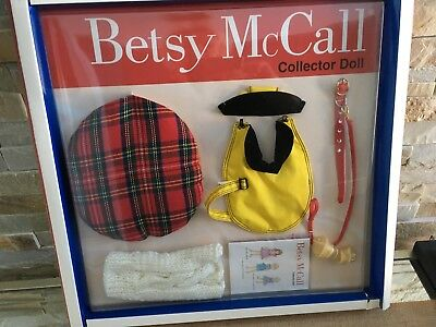 "Tonner BETSY McCALL Collection 14"" Vinyl Doll Clothes DOGGIE Set OUTFIT NRFB"