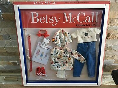 "Tonner BETSY McCALL Collection 14"" Vinyl Doll Clothes FISHING Set OUTFIT NRFB"