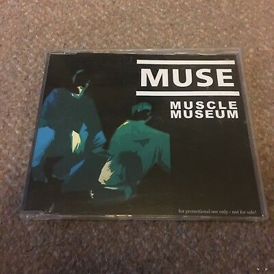 Muse Muscle Museum German Import Promo - Very Rare