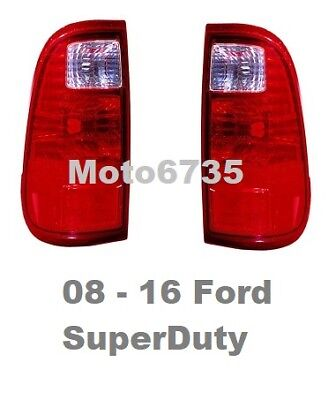 2008 2009 2010 2011 2012 2013 2014 2015 2016 Ford F250 F350 Tail Lights - Pair