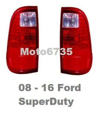 Tail lights Fits: 2008 2009 2010 2011 2012 2013 2014 2015 2016 Ford F250 F350