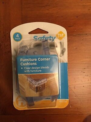 New Safety 1st Furniture Corner Cushions 4 Pack