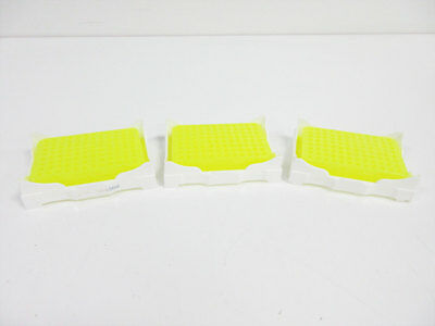 3X 96 Well Isofreeze Pcr Chiller Color Changing Yellow/green - No Lid