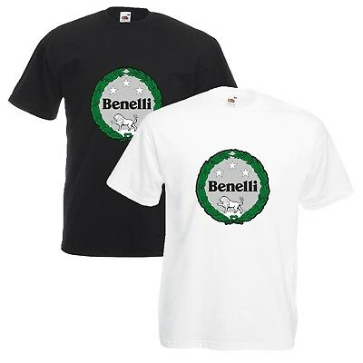 Benelli Motorcycles T-Shirt Biker Motorcycle Rider VARIOUS SIZES & COLOURS