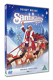 Santa Claus - The Movie (DVD, 2009) Dudley Moore, Classic Childrens Christmas