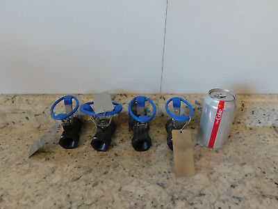 "4 NEW Velan HB 2000 Ball Valve 3/4"" NPT 2000 WOG, WCB Steel Body NEW"