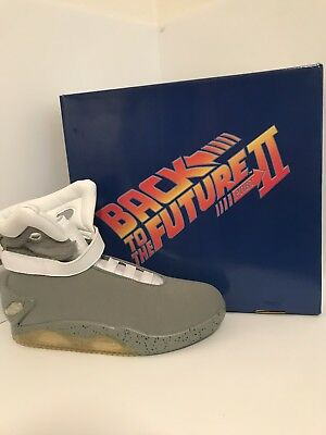 *NEW* Back To The Future 2 Shoes NEW Size 12 Light Up BTTF Prop McFly Universal