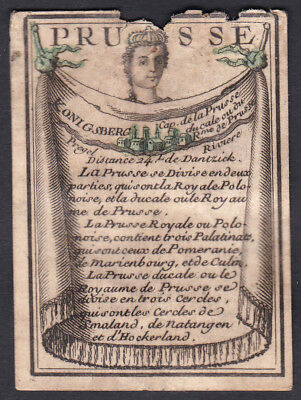 Preußen Prussia Königsberg playing card carte a jouer Spielkarte cards cartes