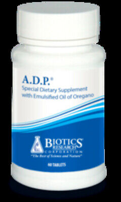 Biotics Research ADP Oil of Oregano Helps w Infections 60 Tabs