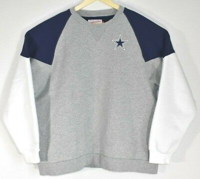 89875394c Mitchell   Ness Size X-LARGE (XL) Dallas Cowboys Football Long Sleeve  Sweatshirt