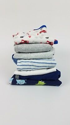 Carters Childrens Place Baby Boy 6-9m Fall Clothes Lot LS Bodysuits Lounge Pants