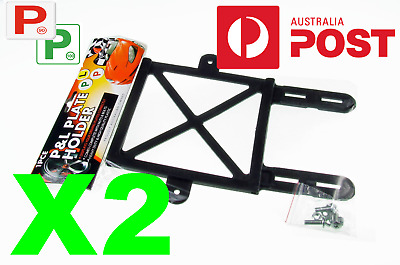 2 X Red Green P And L Plate Holder With Screws P Plate Holder