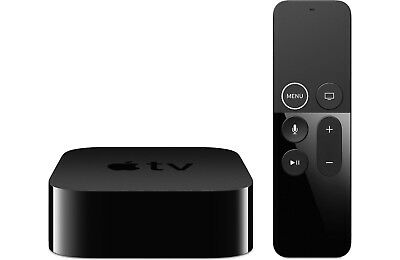 Apple TV 4K (5th Generation) 32GB HDR Media Streamer with Remote control.