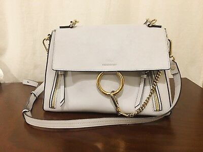 52fc73d5a016 CHLOÉ MEDIUM FAYE Day Leather Shoulder Bag