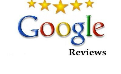 5 Star Google Reviews for business. Best Reviews. SATISFACTION GUARANTEED!