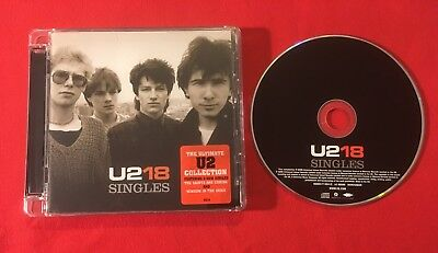 U2 18 Singles Collection 2006 Compilation Very Good Condition Cd