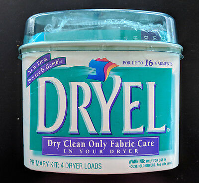 Dryel At Home Dry Cleaning Kit 16 Garments