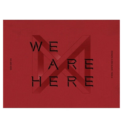 MONSTA X TAKE.2 WE ARE HERE 2nd Album Version SELECT CD+Folded Poster