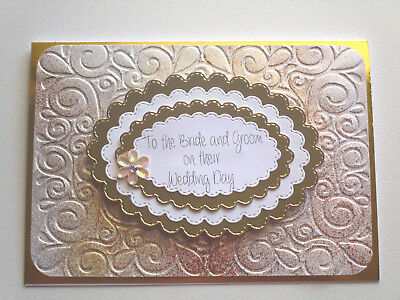 Handmade cards..Congratulations on your Wedding