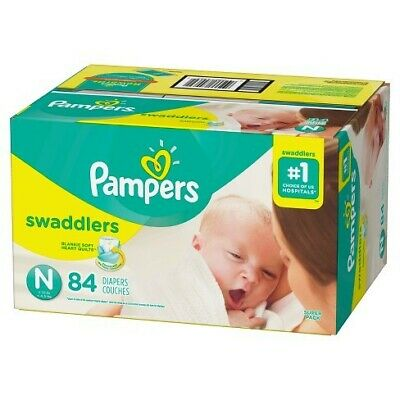 Pampers Swaddlers Diapers Super Pack Newborn Size