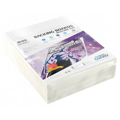 Ultimate Guard Magazine Size Comic Backing Boards Rigid 26pt 100ct 218 x 279mm