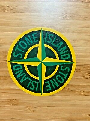 ONE Stone Island Shadow Project 1850 Sticker Decal Laptop Luggage